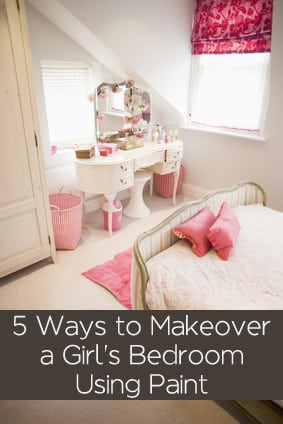 5 Ways To Makeover A Girl S Room Using Paint Painted