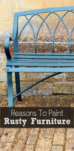 3 Reasons To Paint Rusty Outdoor Furniture Painted Furniture Ideas