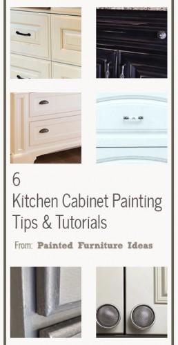 Http Paintedfurnitureideas Com 6 Kitchen Cabinet Painting Tips Tutorials