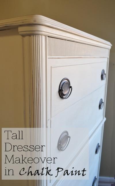 Tall dresser makeover