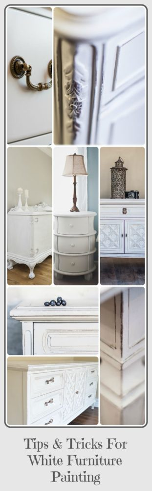 White Furniture Painting
