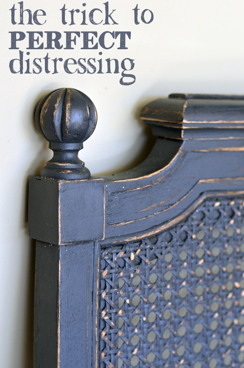3 Easy Steps To Distressing With Chalk Paint Painted