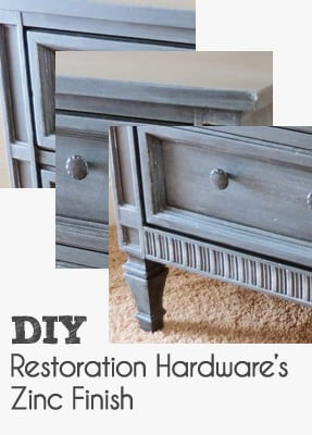I Have Seen Quite A Few Bloggers Attempt To Do The Faux Finish Themselves  On Their Own Furniture. Hereu0027s My DIY Zinc Finish Project From Start To  Finish.