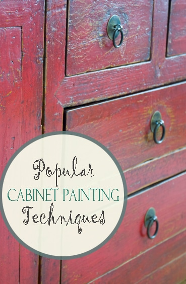 Popular Cabinet Painting Techniques