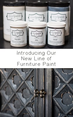gray furniture paintMudPaint VS Annie Sloan Chalk Paint  Painted Furniture Ideas