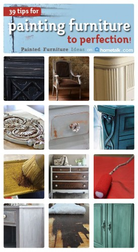 39 Tips For Painting Furniture To Perfection