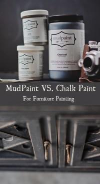Mudpaint vs Chalk Paint