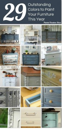 Outstanding Colors to Paint Furniture