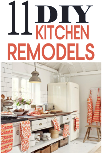 11 ways to diy kitchen remodel  painted furniture ideas rustoleum furniture transformations kitchen table Kitchen Transformation Dark Wood Floors