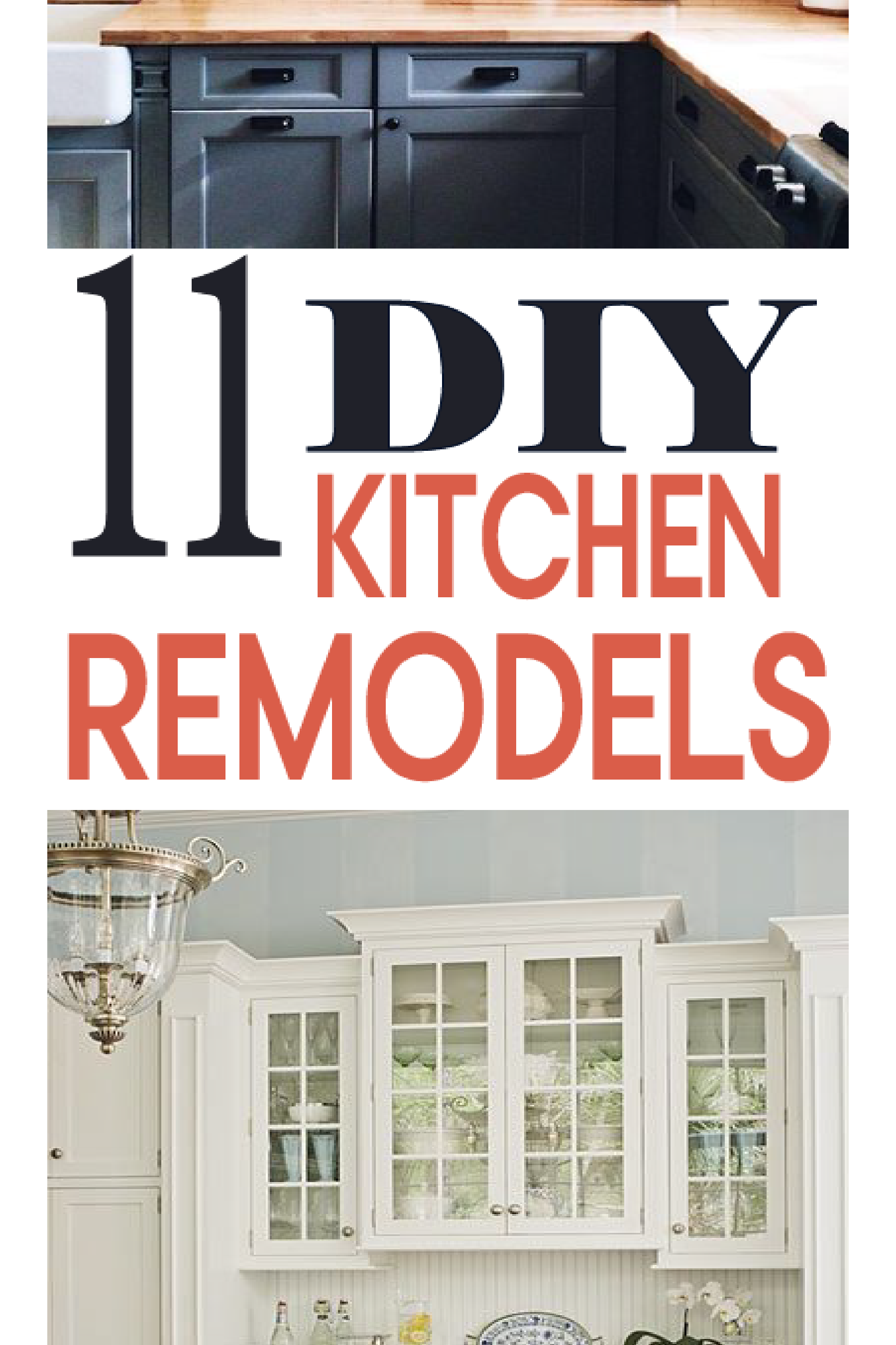 Check out these great DIY kitchen remodel ideas!