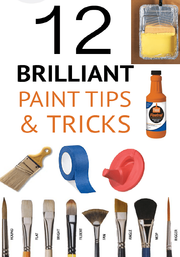 Learn tricks of the trade with these great DIY painting tips!