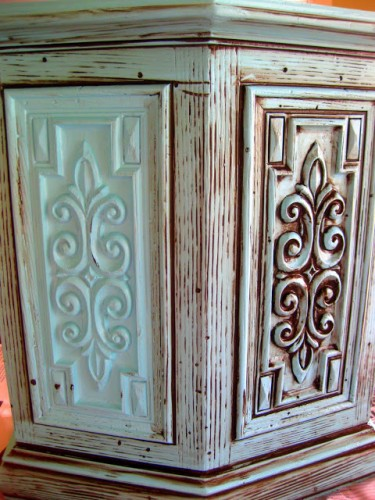 DIY Glazing and Antiquing Furniture