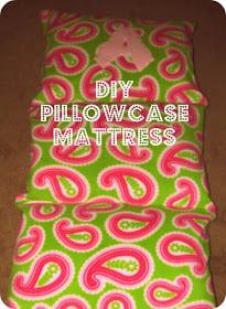 DIY PIllow Case Matteress