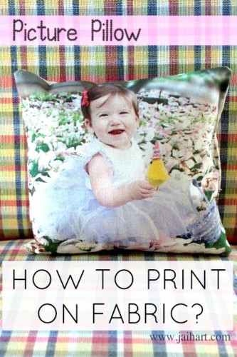 DIY Picture Pillow