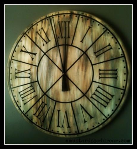 Finished Clock FB