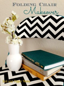 Folding Chair Makeover
