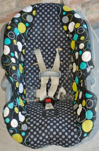 Reupholster a Carseat