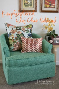 Reuphostered Club Chair Tutorial