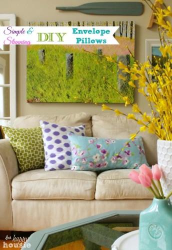 Stunning DIY Envelope Pillow Tutorial