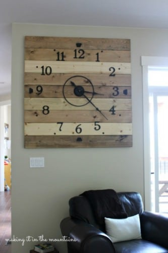 diy-wood-plank-clock-making-it-in-the-mountains