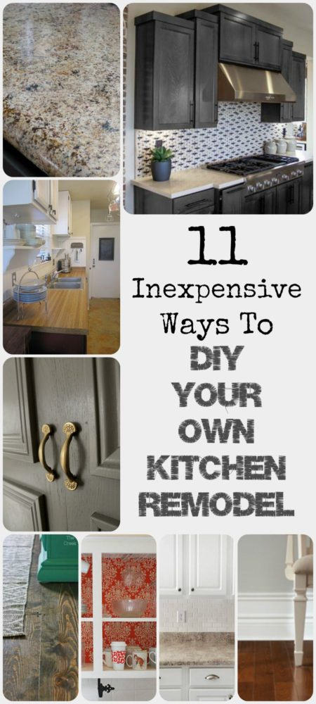 Ways to DIY Your Own Kitchen Remodel