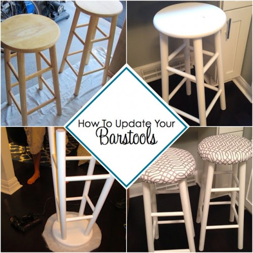 Painted Furniture Ideas Bar Stool Makeover Tutorials