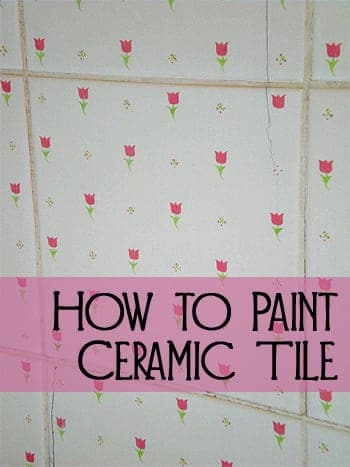 DIY Painting Ceramic Tile