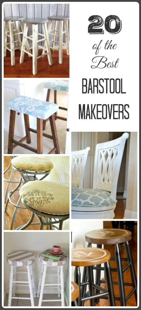 Reupholster Bar Stool Diy Tutorials