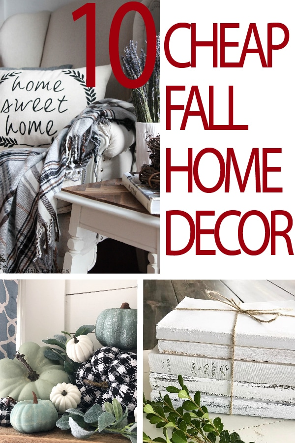 Check out these easy and beautiful fall decoration ideas for your home this season.  Have fun decorating your home with these no-stress home decor ideas!