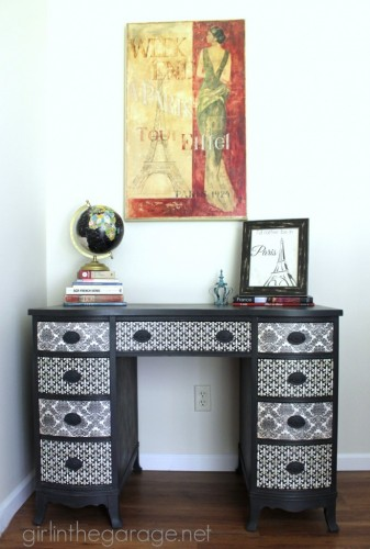 IMG_3432-graphite-chalk-paint-decoupage-french-desk-makeover-tall-691x1024