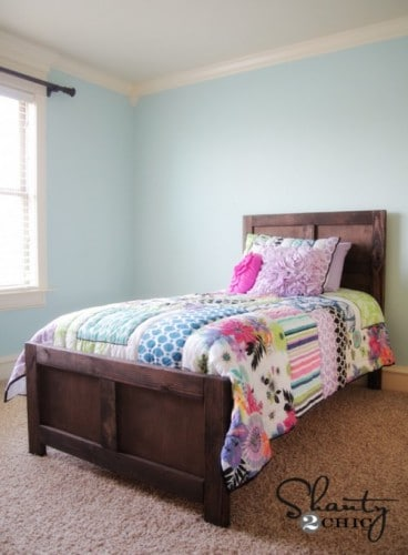 DIY Bed-Pottery Barn Inspired