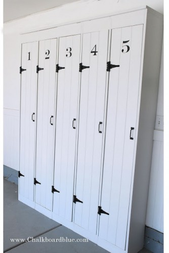 DIY Pottery Barn Lockers