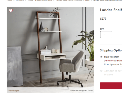 west elm ladder shelf