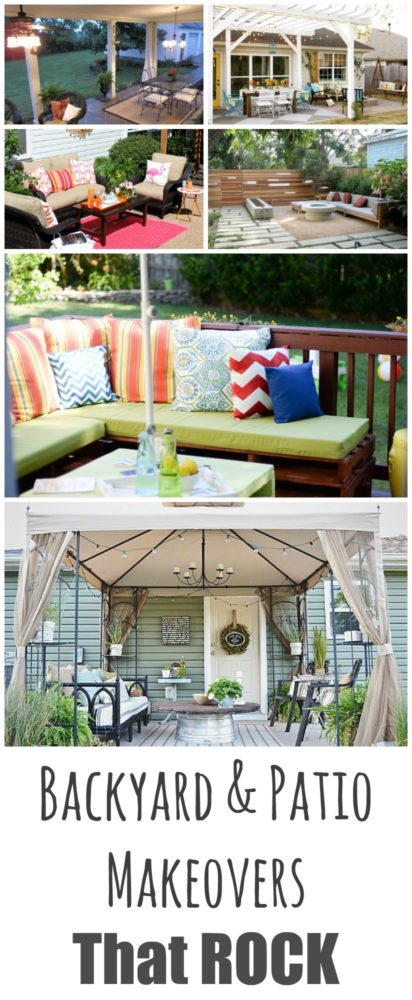Backyard & Patio Makeovers That Rock