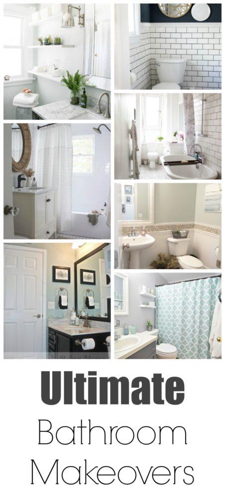 Ultimate bathroom makeover painted furniture ideas for Ultimate bathroom design