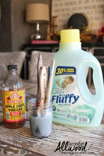 brushes-soaking-in-fabric-softener-683x1024