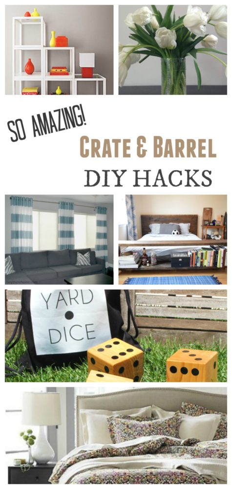 Crate and Barrel DIY Hacks