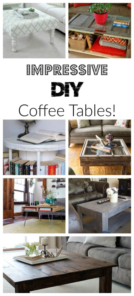 Diy Coffee Table Projects Painted Furniture Ideas