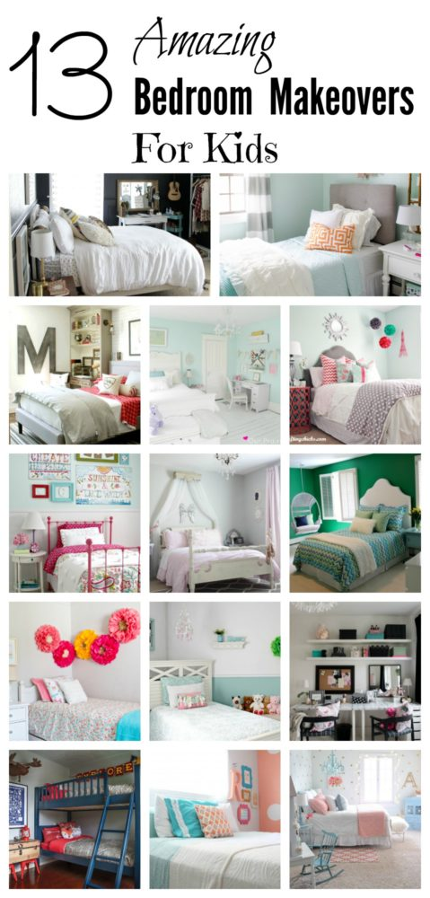 kids bedroom makeovers
