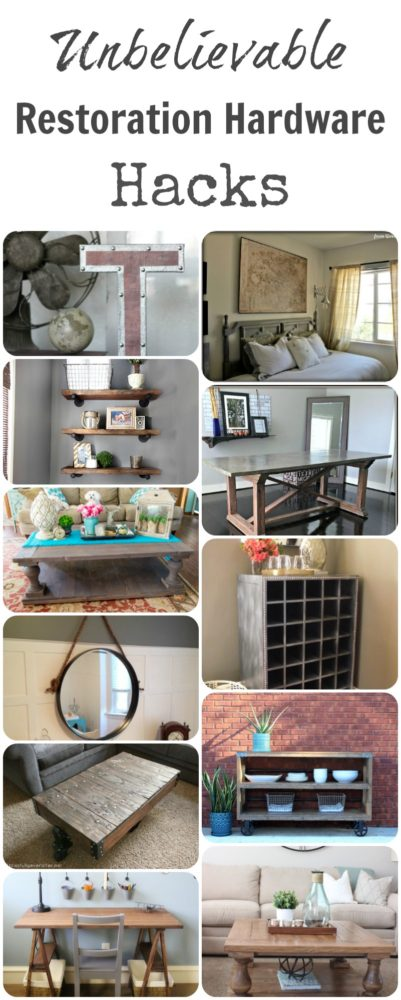 diy restoration hardware hacks