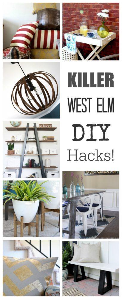 West elm home decor hacks painted furniture ideas for Home decor hacks