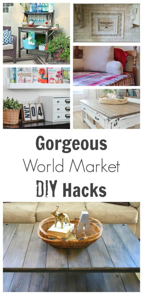 world market diy hacks