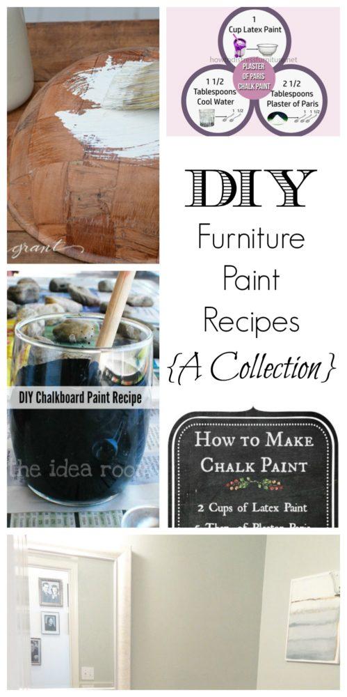 Diy Furniture Paint Recipes Painted Furniture Ideas