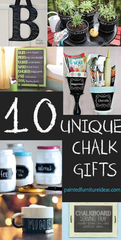 10 Unique Chalkboard Gifts Everyone Will Love!