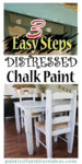 distressed chalk paint