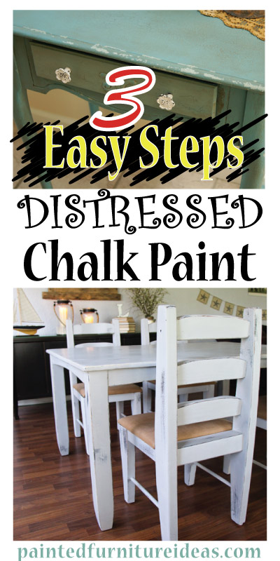 distressed chalk paint