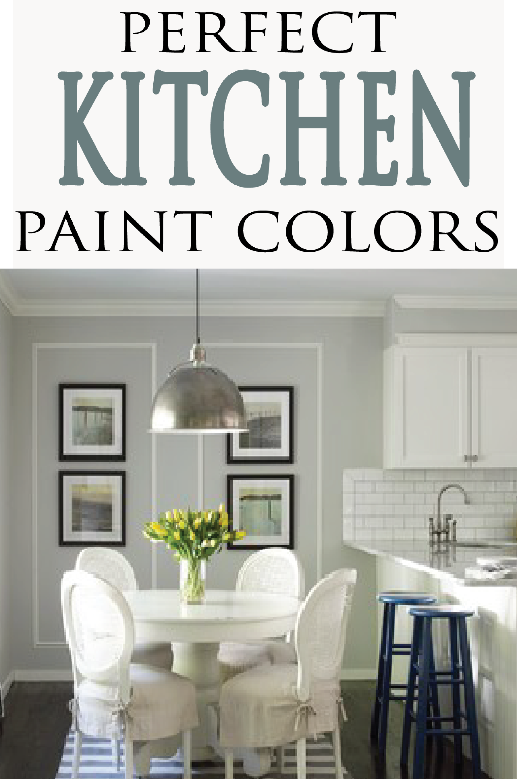 Check out these beautiful kitchen color schemes for your new home or remodel.  Get inspired for your DIY home project!