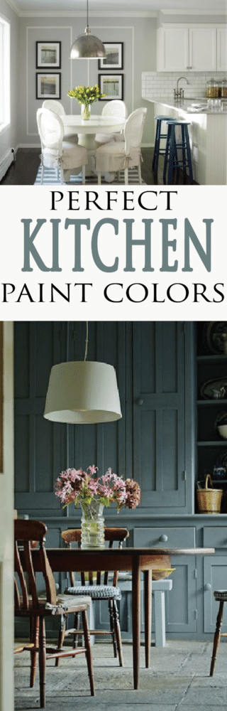 Need help picking out the perfect paint color for your kitchen? Get inspired with these 12 beautiful color schemes for your home kitchen.