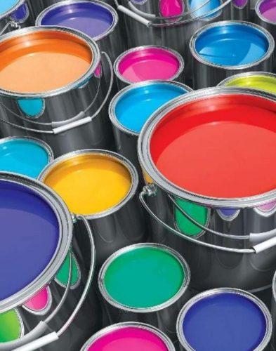 paint cans open