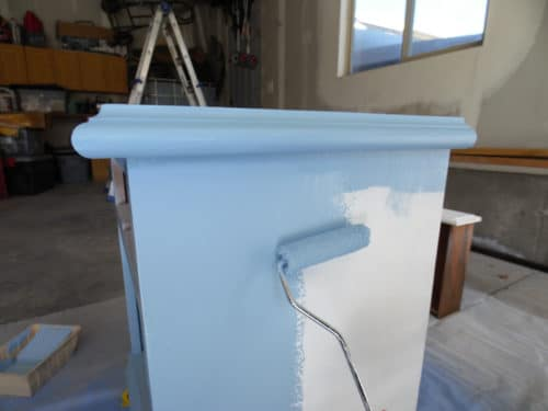 paint nightstand